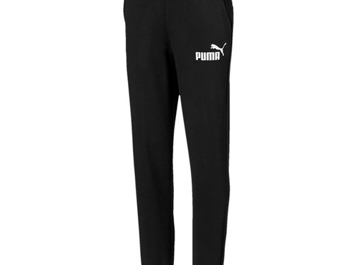 Puma Logo Sweat Pant Black