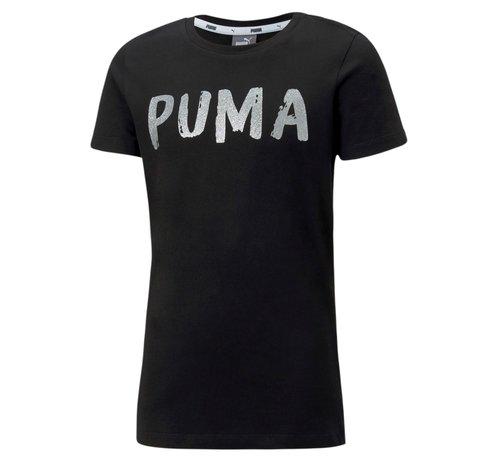 Puma Alpha Tee Black