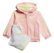 Adidas Logo Fullzip Hoodie Pink