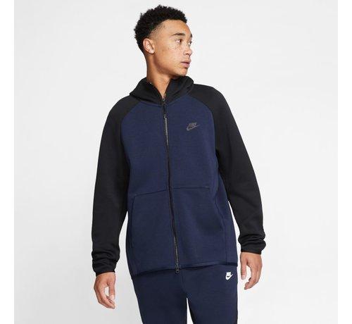 Nike Tech Fleece Hoodie Navy/Black