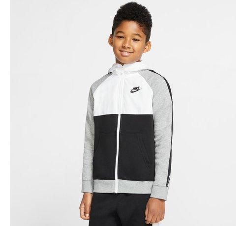 Nike Fullzip Hoodie Black/White