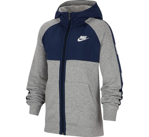 Nike Fullzip Hoody Bleu