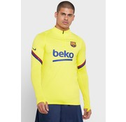 Nike FC Barcelone Strike Drill Top Yellow 19/20