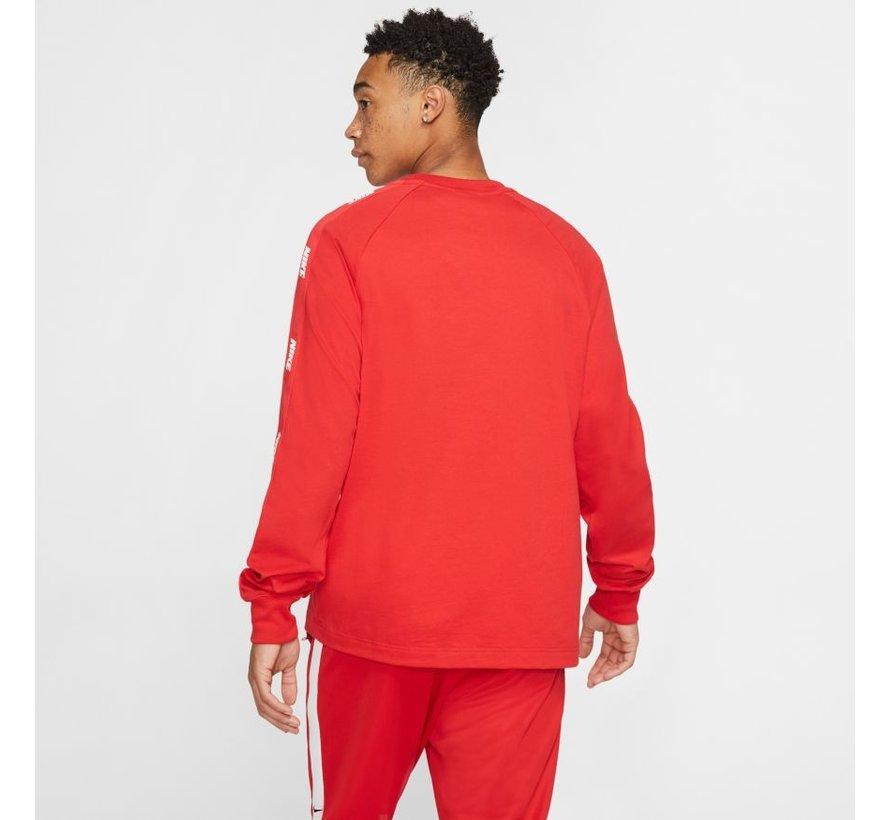 Longsleeve Top Hybrid Red