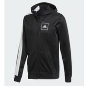 Adidas 3s Sweat Fz Black