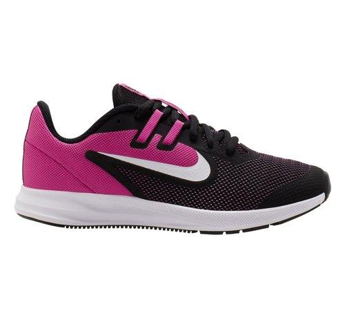 Nike Downshifter 9 Black/White JR