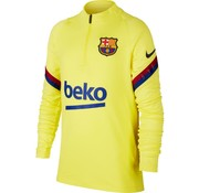 Nike FC Barcelona Strike Drill Top Yellow JR