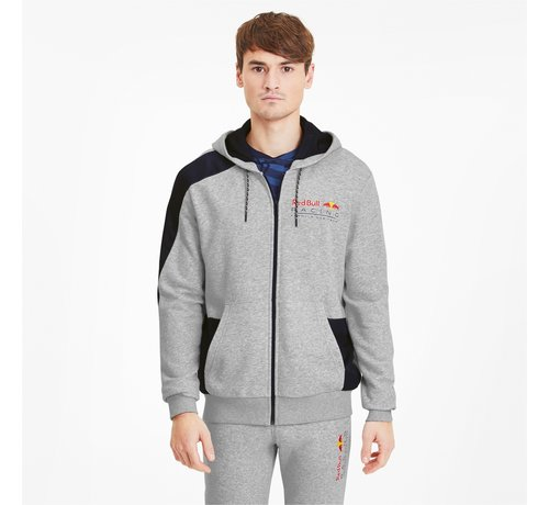 Puma Redbull Sweat Jacket Grey 20