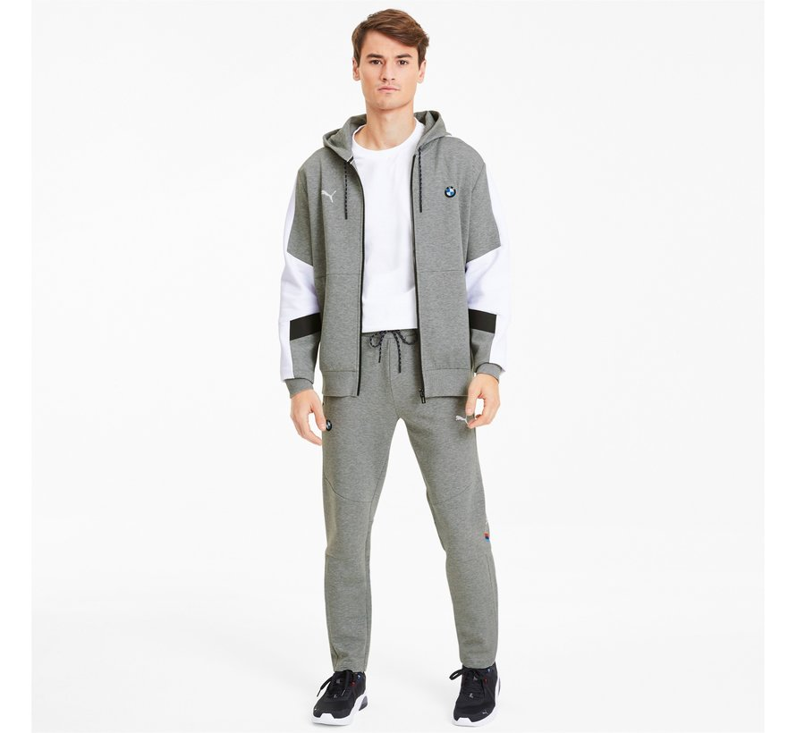 BMW Hooded Sweat Jacket Gray 20