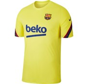 Nike Barcelona Training Shirt Yellow 19/20