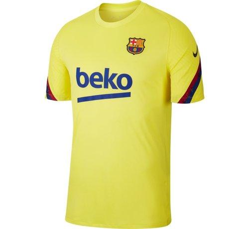 Nike Barcelona Training Shirt Yellow 19/20