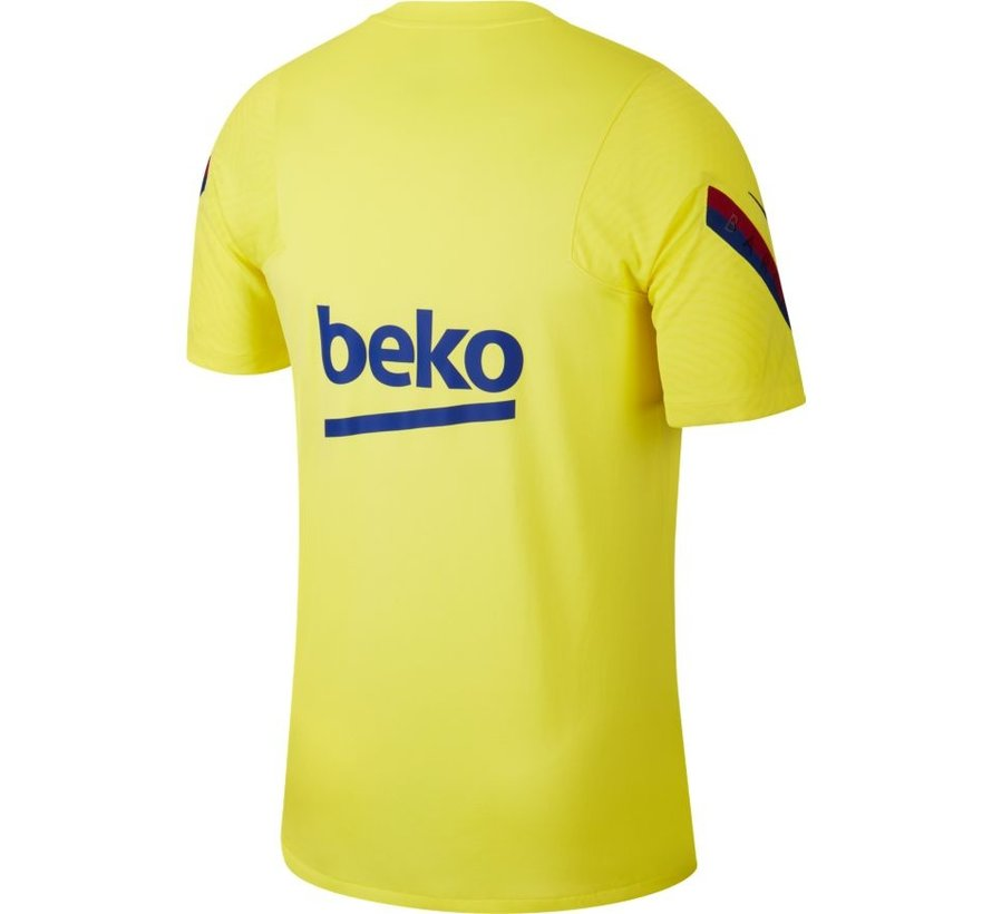 Barcelona Training Shirt Yellow 19/20