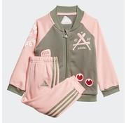 Adidas Collegiate Tracksuite Pink 20