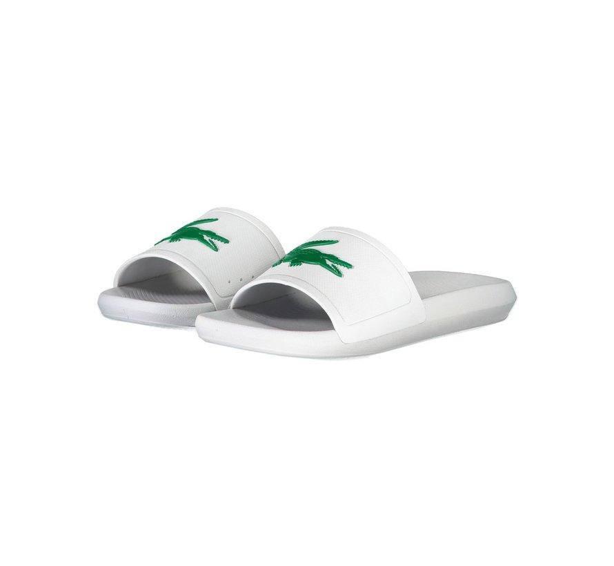 Croco Slide White/Green 20