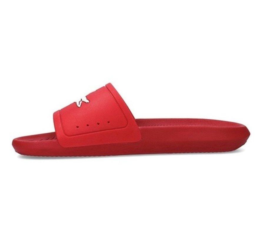 Croco Slide Red/White 20