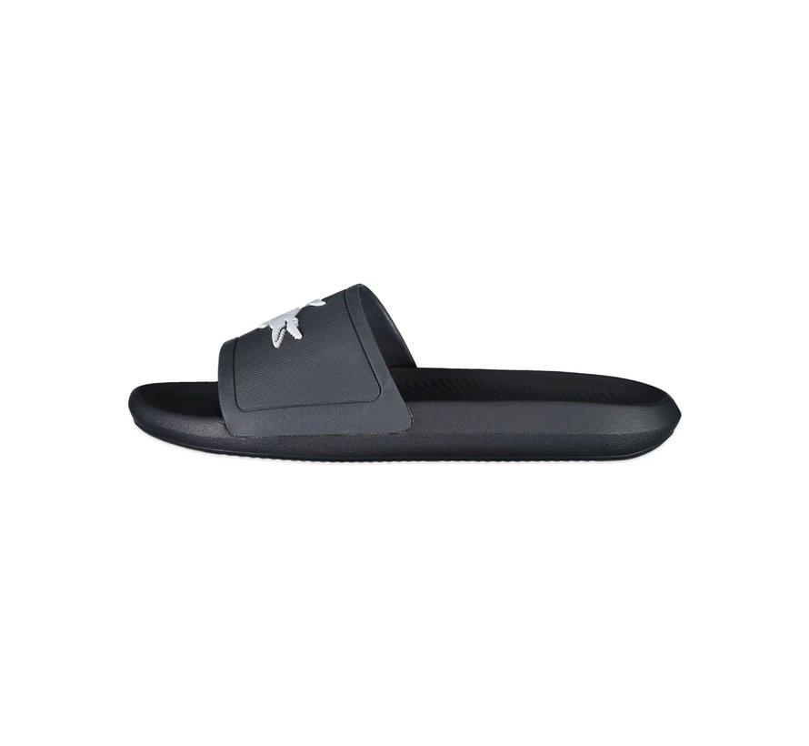 Croco Slide Black/White 20