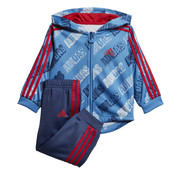 Adidas Shiny Blue Red Jogging 20