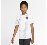 Nike PSG Jordan Training Shirt White 19/20 Jr