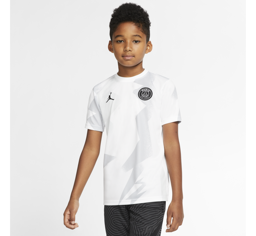 PSG Jordan Training Shirt White 19/20 Jr