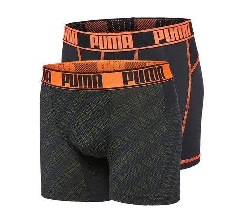 Puma Puma Active Boxer Print orange
