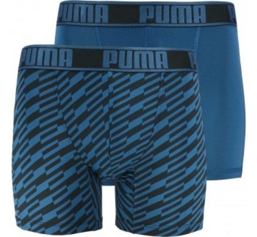 Puma YD Bold Stripe Boxer Blue
