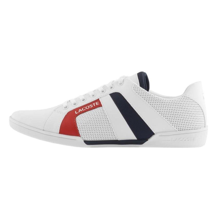 Hapona White/Navy/Red