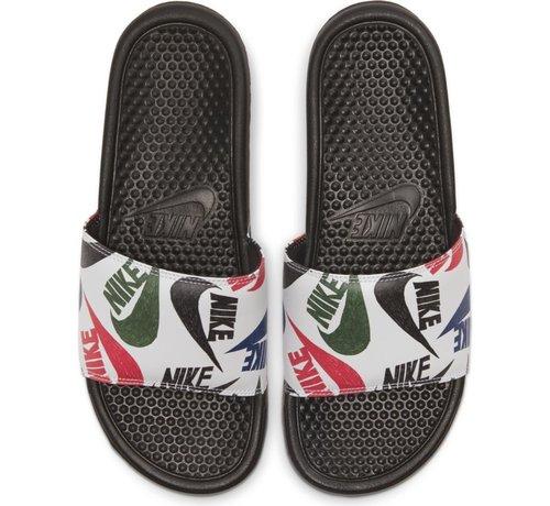 Nike Benassi JDI Print Black/Black