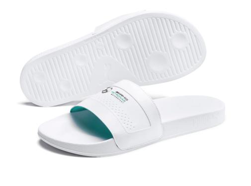 Puma Mercedes Sandals White