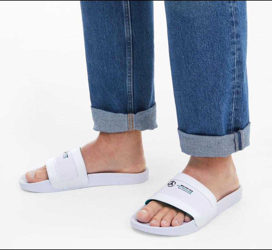 Mercedes Sandals White