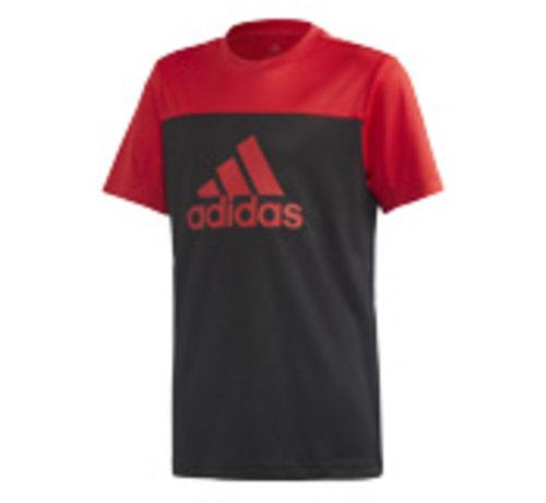 Adidas Yb Tr Eq Tee Noir-rouge