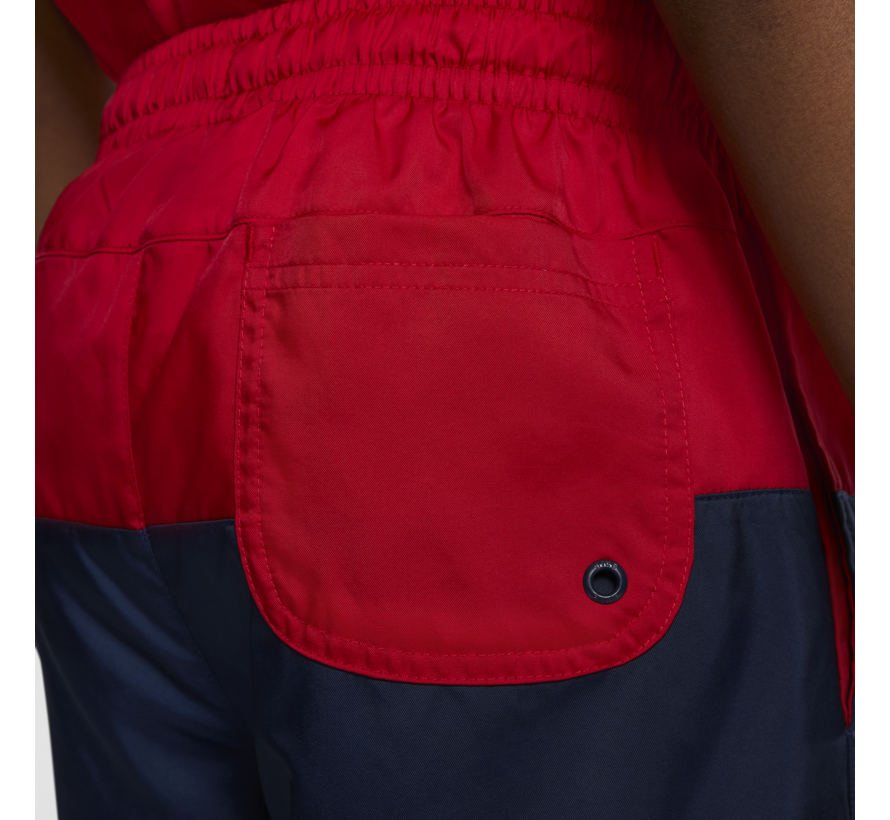 JR Short Woven Block Red/Navy