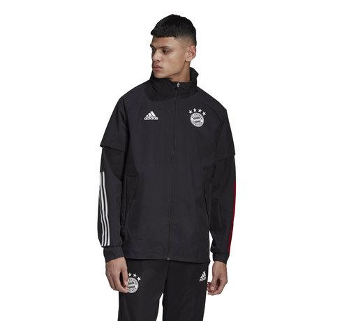 Adidas Bayern Allweather Jacket Black 20/21