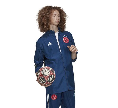 Adidas Ajax Pre Jacket Blue 20/21