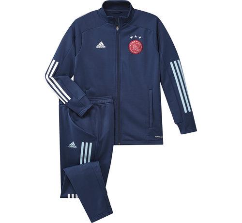 Adidas Ajax TK Suit Blue 20/21 Kids