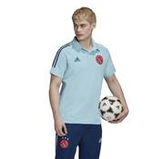 Adidas Ajax Polo IceBlue 20/21