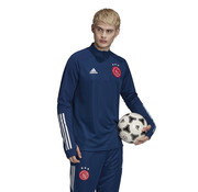 Adidas Ajax Training Top Blue 20/21