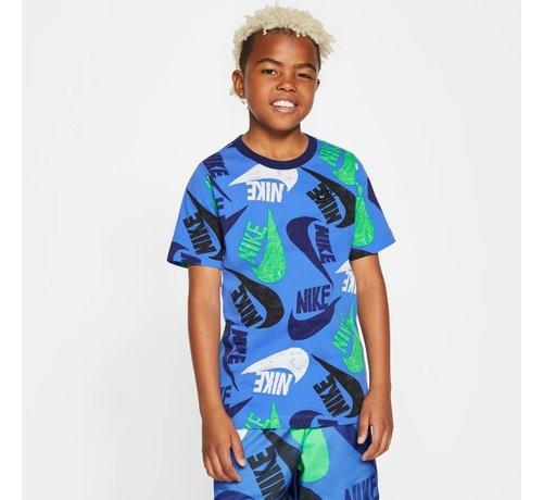 Nike Big Logo Colors Blue
