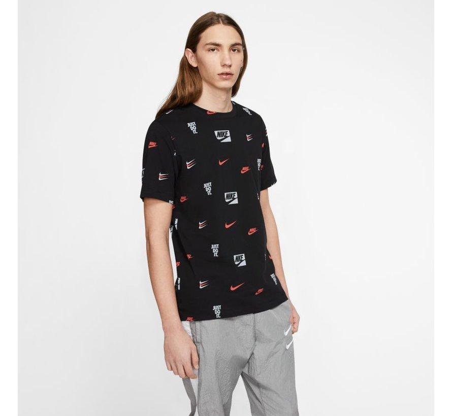 Printed Shirt Black