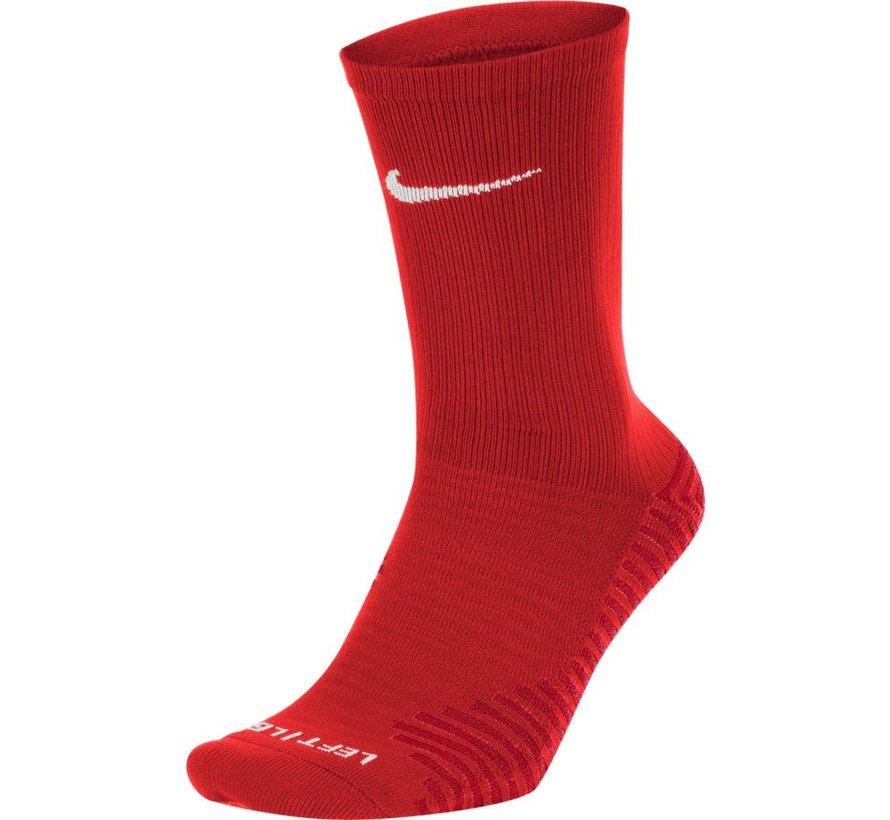 Squad Crew Socks Red