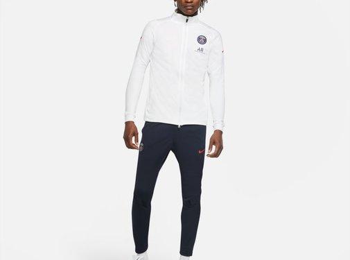 Nike PSG Tracksuit White 20/21