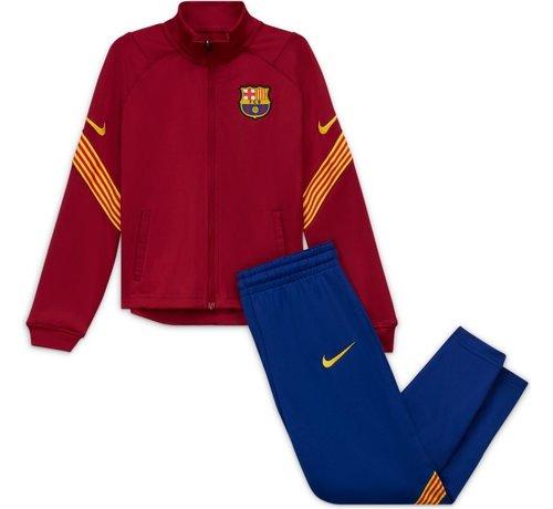 Nike FC Barcelona Track Suit Red 20/21 Kids