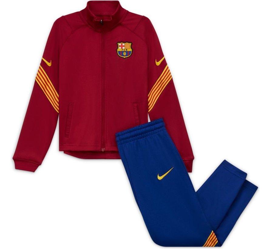 FC Barcelona Track Suit Red 20/21 Kids