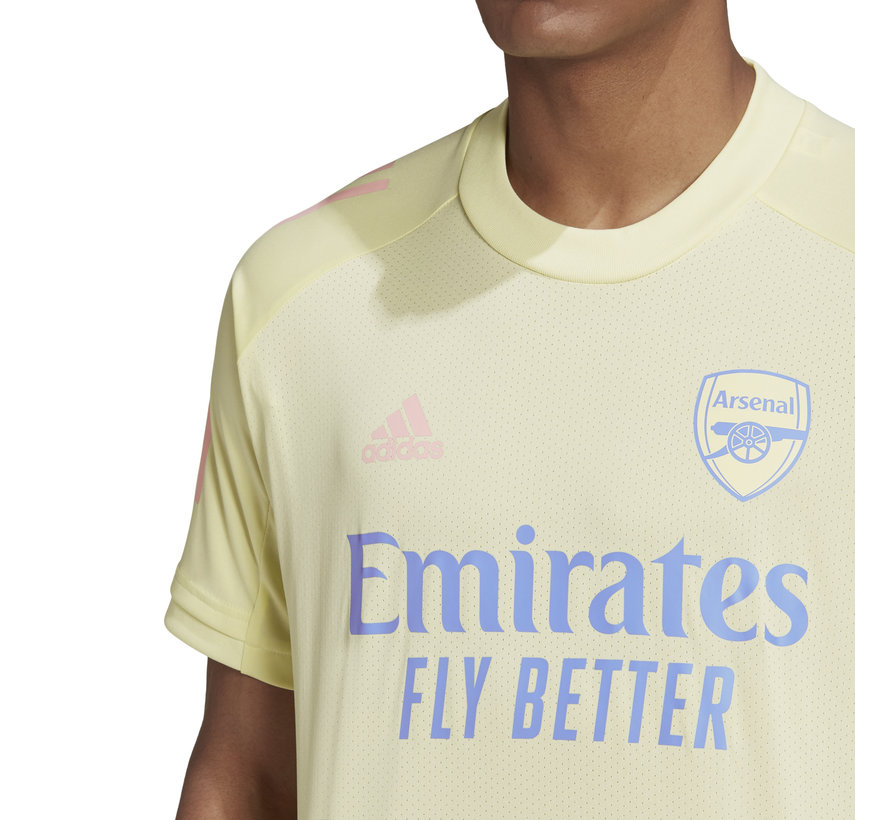 Arsenal Training Jersey Yellow 20/21