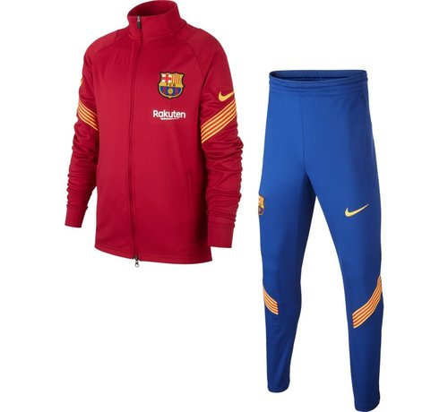 Nike FC Barcelona Track Suit Red 20/21