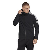 Adidas ZNE Woven Hoodie Black