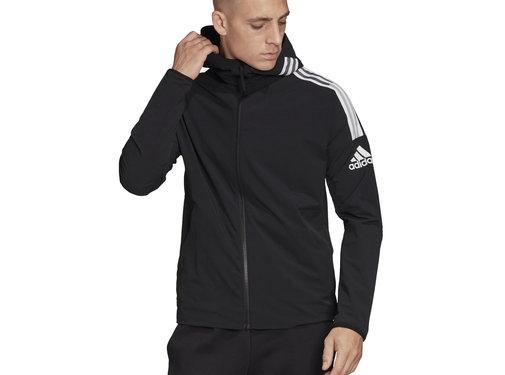 Adidas ZNE Woven Hoodie Black