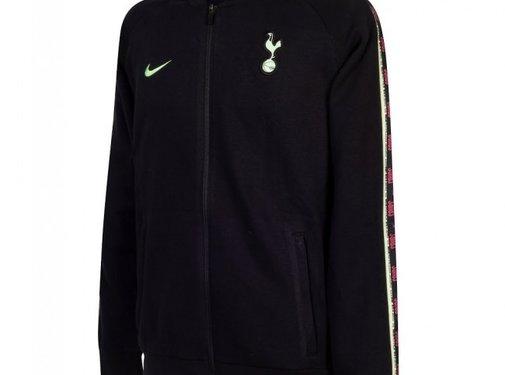 Nike Tottenham Fleece Track Jacket Black 20/21
