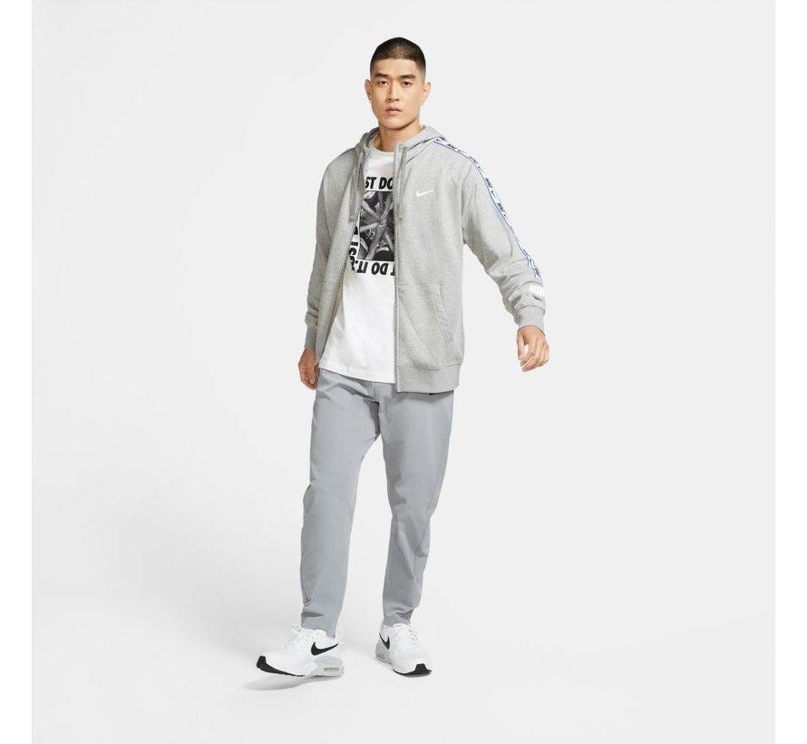 Full-zip hoodie Gris