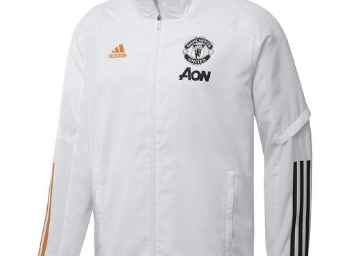 Adidas Manchester United Pre Jkt Blanc 20/21