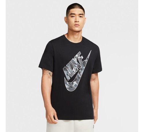 Nike Nsw Tee Club Camo2 Black